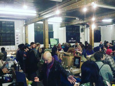 Local, seasonal, organic, ethical, Edinburgh, Indoor, Market